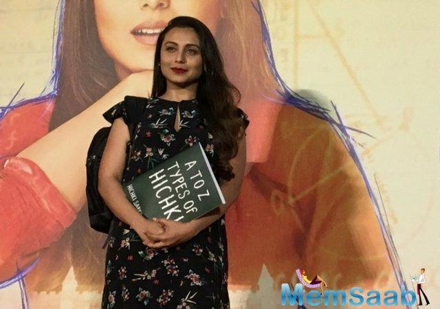 While the trailer of Rani Mukerji's Hichkic has managed to leave us impressed, but we learned that the motion picture is a copy of a 2008 Hollywood film titled Front Of The Class.